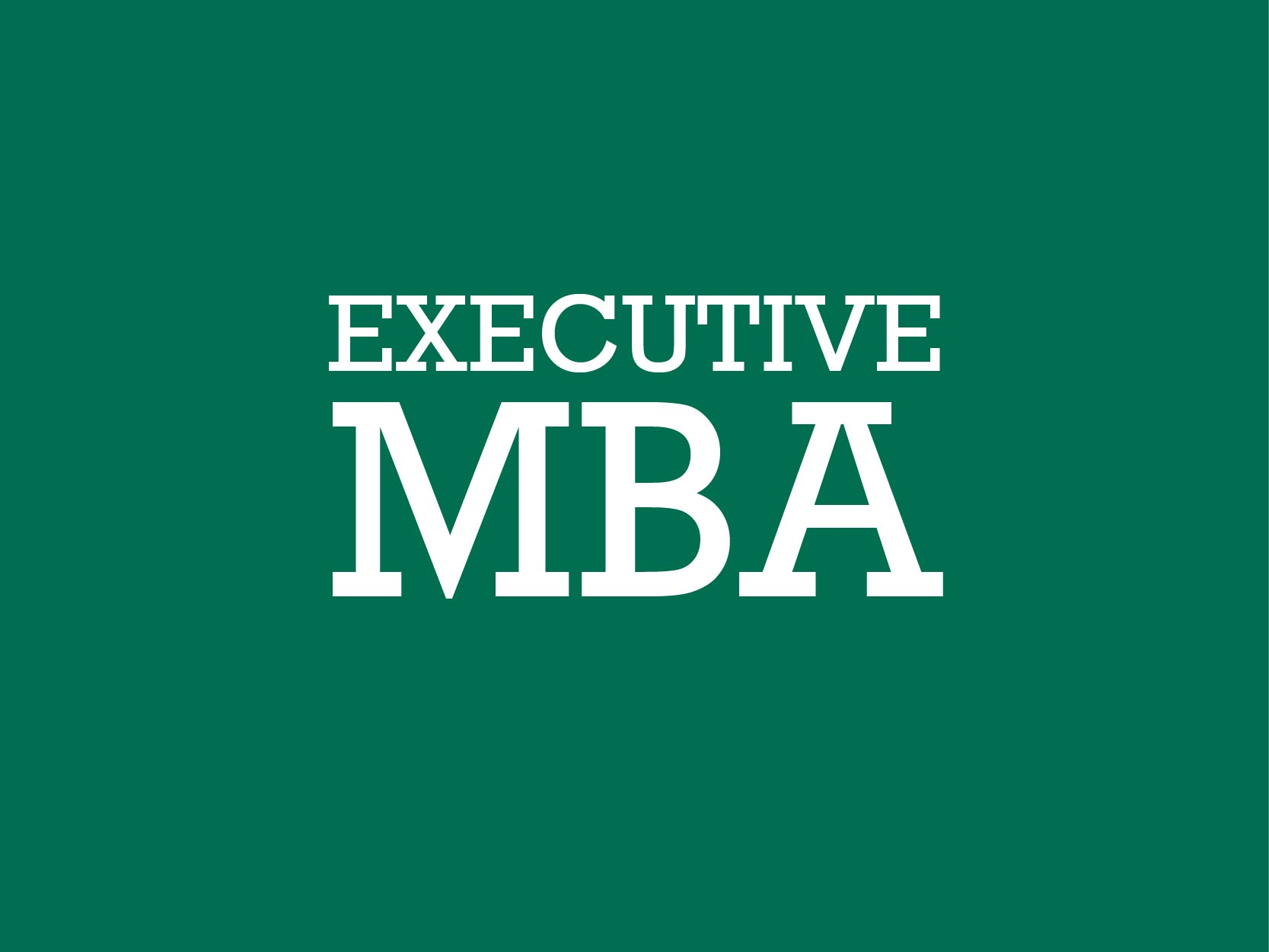 Executive MBA Graduation Portal
