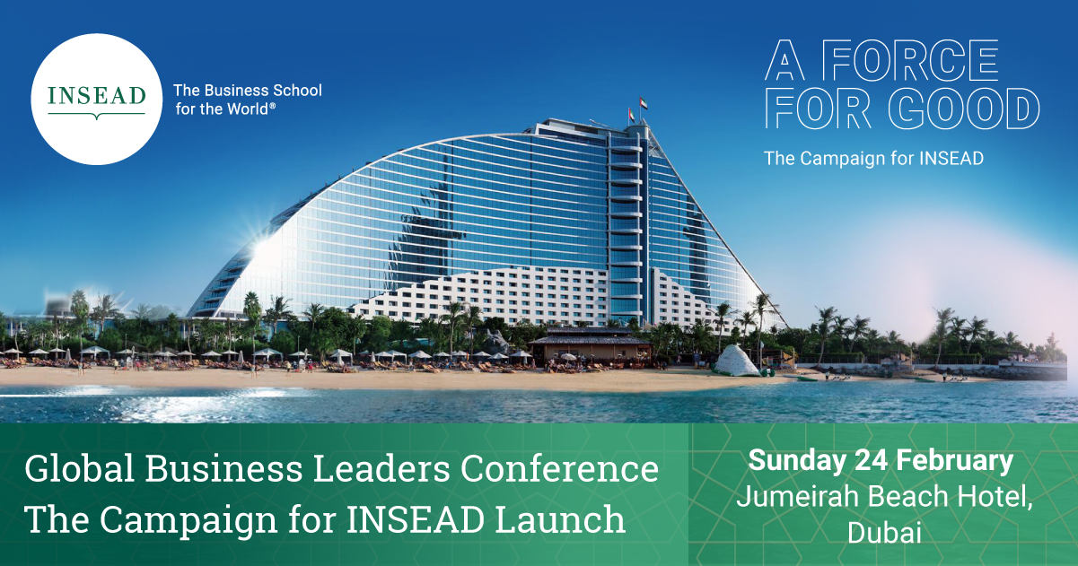 INSEAD Continues its Global Campaign in Dubai | INSEAD