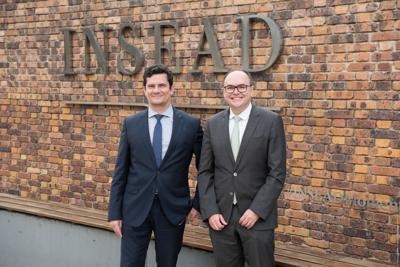 INSEAD Welcomes Brazil's Federal Judge Sérgio Moro | INSEAD Felipe Monteiro Insead Photos