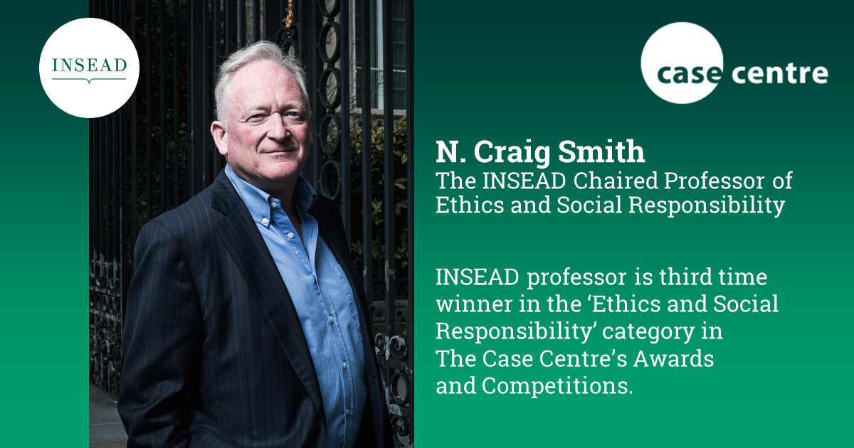 INSEAD professor's Uber case study wins the 'Ethics and